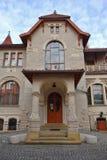 Secesi muzeum w Kindermana willi - Miejska galeria sztuki w Łódzkim Zdjęcia Stock