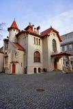 Secesi muzeum w Kindermana willi - Miejska galeria sztuki w Łódzkim Zdjęcia Royalty Free