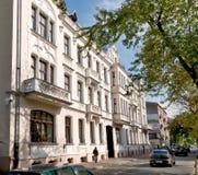 Secesja budynek w Częstochowskim Fotografia Stock