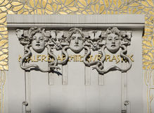 Secession, Art Nouveau in Vienna Stock Photos