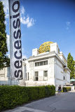 Secession building on Karlsplatz in Vienna, Austria. Stock Photography