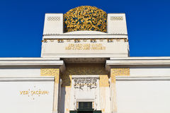 Secession Building, Vienna, Austria Stock Image