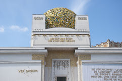 Secession building in Vienna, Austria Royalty Free Stock Images
