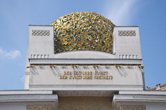 Secession building in Vienna, Austria Stock Photography