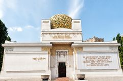 Secession building in Vienna Stock Images