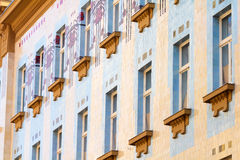 Secession building in Zagreb Royalty Free Stock Image