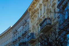 Secession tenements in Berlin Royalty Free Stock Photography