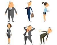 Sechs Berufleute Lizenzfreies Stockfoto