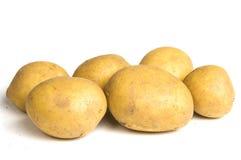 Sechs Kartoffeln Stockbilder