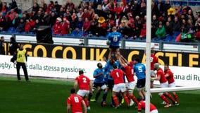 Sechs Nationen Italien Wales Lizenzfreies Stockbild