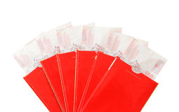 Chinesischer roter Umschlag Stockbilder