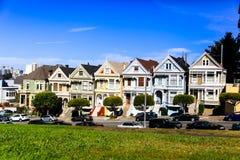 'Sechs Schwestern' in San Francisco Lizenzfreie Stockfotografie