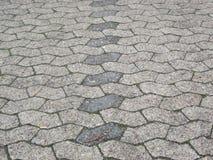 Sechs in Verlegenheit gebrachter asymetrischer Gips (Parkplatz) lizenzfreie stockfotografie