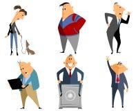 Sechs verschiedene Leute Lizenzfreie Stockfotografie