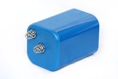 Sechs-Volt-Batterie. Stockfoto