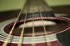 Sechs-Zeichenkette Gitarre Lizenzfreie Stockfotografie