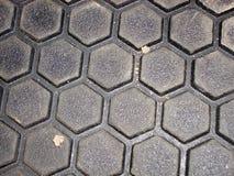 Sechseckig, Oberfläche lizenzfreies stockfoto
