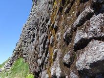 Sechseckige Bildung des vulkanischen Rocks Stockbilder