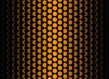 Sechseckige dimensionalzellen Lizenzfreies Stockbild