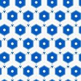 Sechseckiges Fliese-Muster Lizenzfreies Stockfoto