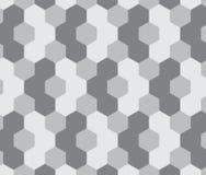 Sechseckiges Muster entziehen Sie Hintergrund Lizenzfreies Stockbild