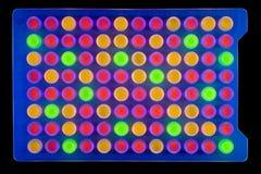 Sechsundneunzig Vertiefungsplatte eine Stockfotografie