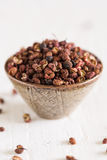 Sechuan peppercorns Stock Photos