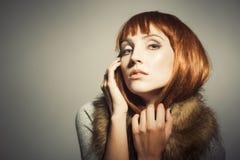 Sechziger-Ära-Mode-Blick Lizenzfreies Stockbild