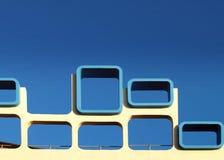 Sechziger-Architektur, Blackpool Stockfotos