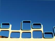 Sechziger-Architektur, Blackpool lizenzfreie stockbilder