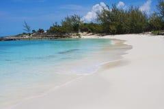 Secluded Bahamas Beach Stock Image