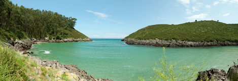 Secluded bay Royalty Free Stock Photo