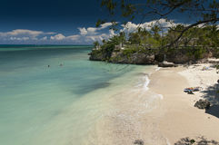 A secluded bay near Guardalavaca Beach Royalty Free Stock Photo