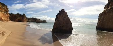 Secluded Beach Stock Images
