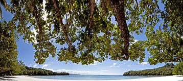 Secluded Beach Cove stock images