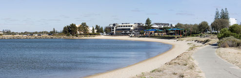 Secluded Beach at Jetty Baths Stock Images