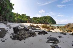 Secluded beach at Koh Kradan Stock Photography