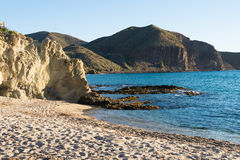 Secluded beach, landscape Stock Photography