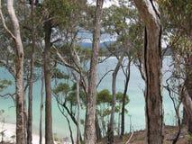 Secluded beach, Merimbula Stock Photos