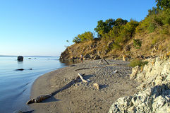 Secluded beach Royalty Free Stock Photo
