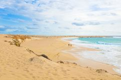 Secluded beaches of Cape Verde Royalty Free Stock Image