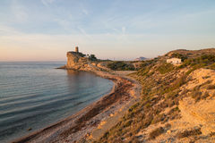 Secluded Costa Blanca bay Royalty Free Stock Photo