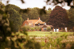 Secluded country house Royalty Free Stock Images
