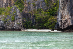 Secluded cove Royalty Free Stock Photo