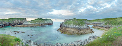 Secluded cove Stock Images