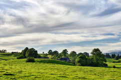 Secluded Farmhouse Stock Images