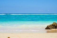 Free Secluded Golden Sandy Beach, Azure Ocean Water Stock Image - 142835671