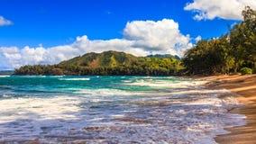 Free Secluded Kauai Beach Royalty Free Stock Photography - 218382267