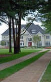 Secluded Luxury Home 5. Large luxury home in a secluded residential development Stock Photography