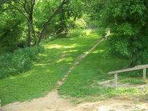 Secluded Path Stock Photos